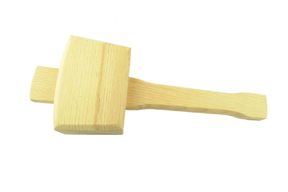 Beech Wood Wooden Mallet Medium 48 x 65mm Face. Workshop Carpenters ...